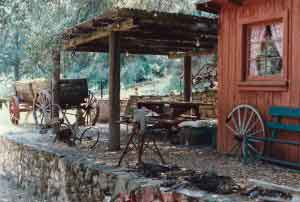 Mussell Fort Blacksmith Shop