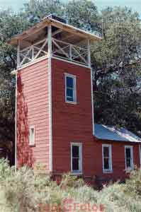 Mussell Fort Fire Hose Drying Tower