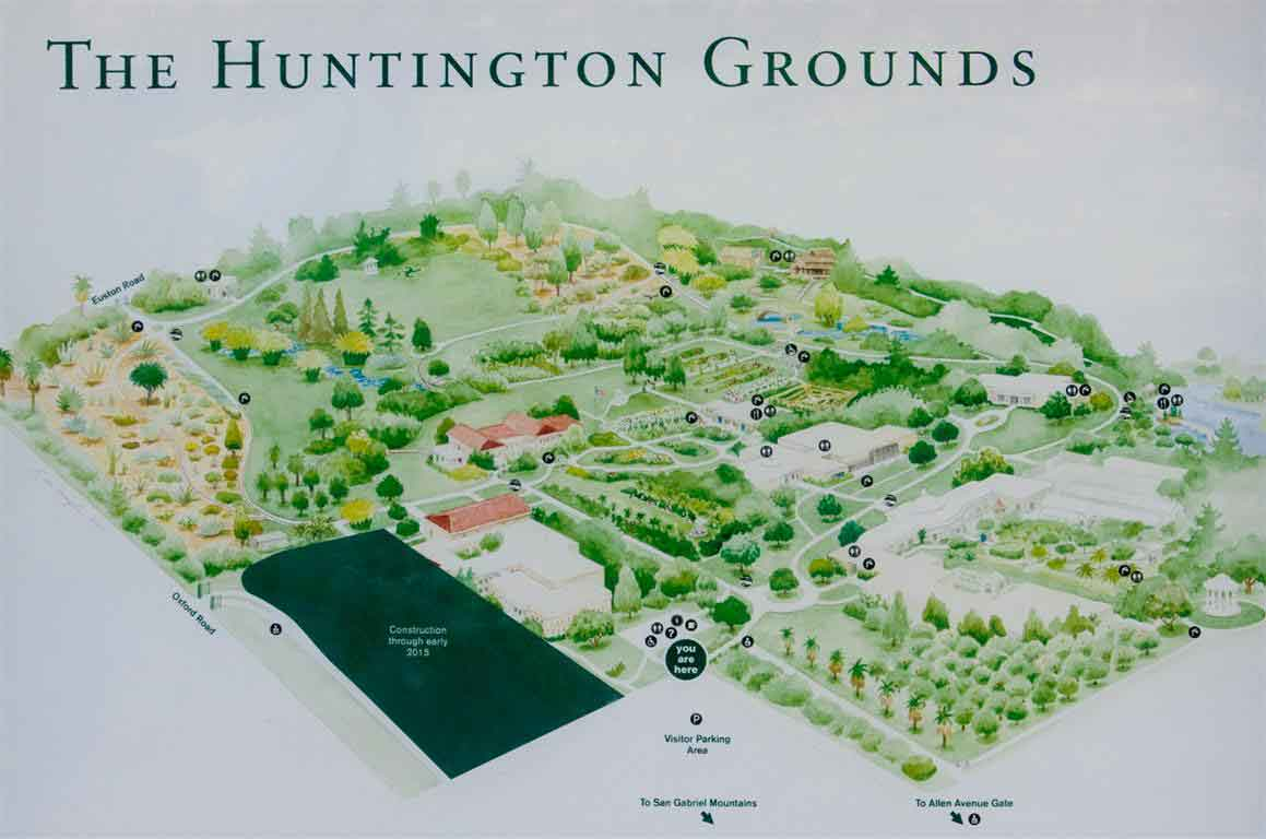Huntington library map collection book